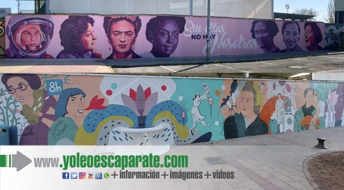 El mural feminista es ya una realidad en Calahorra
