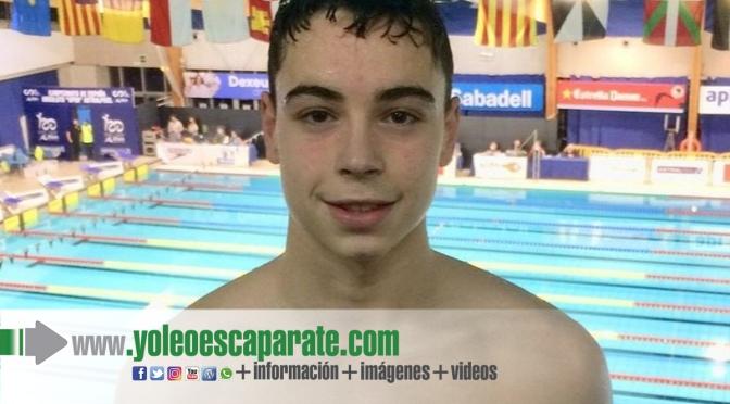 Iván Martínez XXI campeonato de España de natación