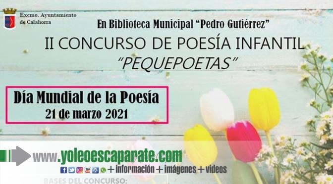 """Segunda edición del concurso """"Pequepoetas"""" en la biblioteca de Calahorra"""