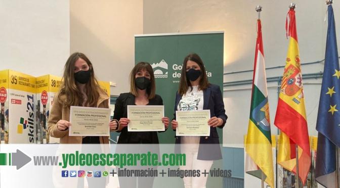 Irene García, Omayra Merino y Berta Rubio premio extraordinario de Formación Profesional