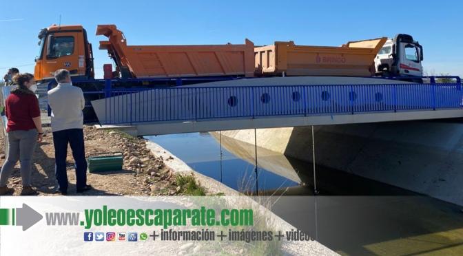 Esta semana se procederá a la reapertura del puente al tráfico