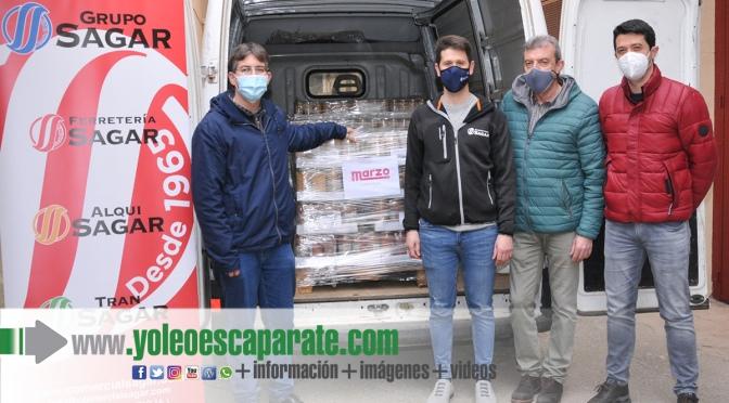 Grupo Sagar finaliza su acción solidaria en Arnedo