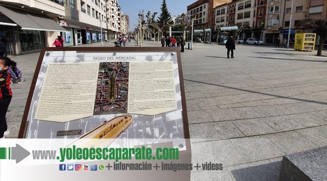 Colocada la señalización turística del paseo del Mercadal de Calahorra