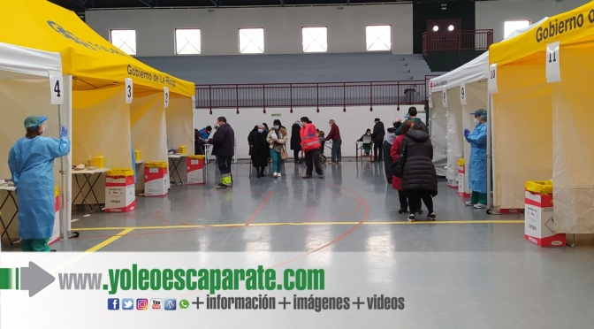 Los mayores de Alfaro, Aldeanueva de Ebro y Rincón de Soto comienzan a estar vacunados