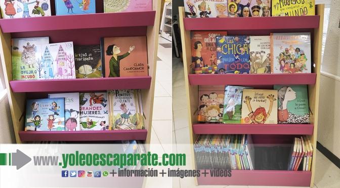Nuevo punto violeta infantil en la biblioteca municipal de Calahorra