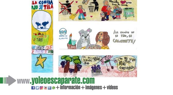 El 30 de abril se cierra la convocatoria del VI Concurso de Dibujo Solidario 'La comida no se tira