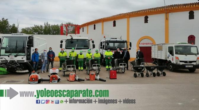 Presentación de los equipos de limpieza viaria para Alfaro