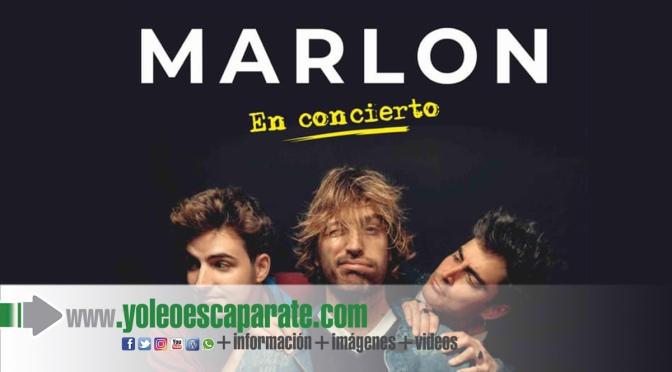 Entradas a la venta para el concierto de Marlon en Alfaro