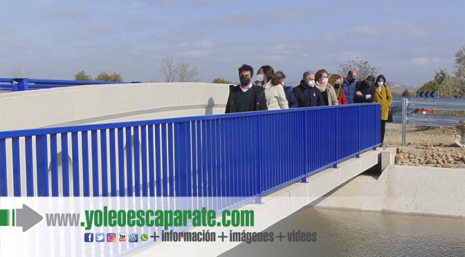 Finalizan las obras del nuevo puente sobre el canal de Lodosa