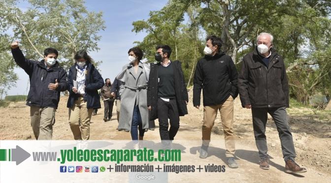 Finaliza la restauración fluvial del Ebro en el paraje de La Nava en Alfaro