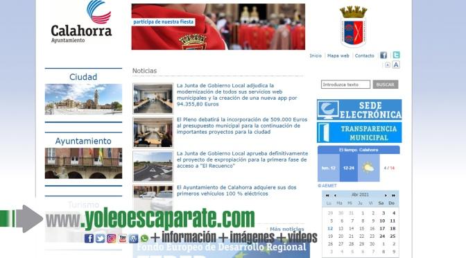 Calahorra modernizará las webs  municipales y creará  una nueva app  por 94.355,80 Euros