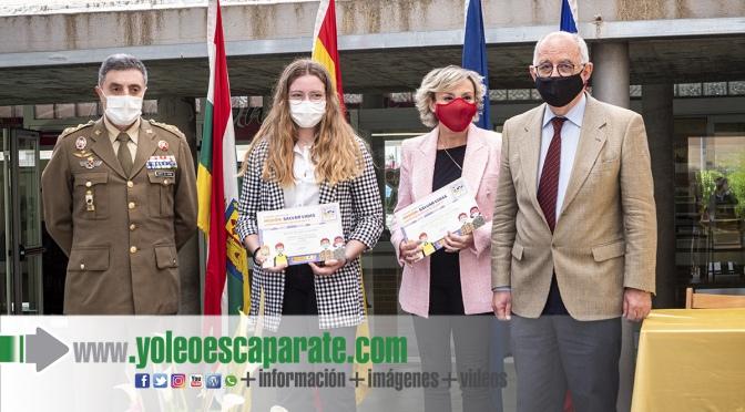 Malena Delgado del CEO Villa de Autol, premiada en el concurso nacional 'Carta a un militar español'