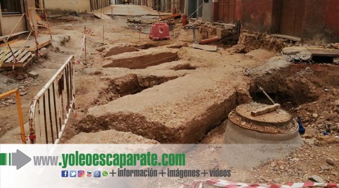 Se van a extraer parte de los restos localizados en la calle Eras