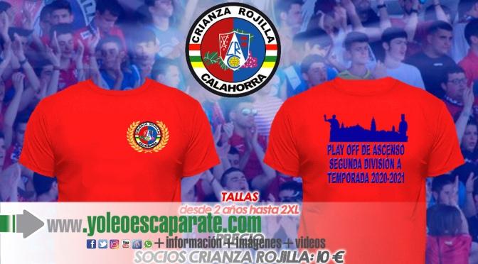 La Crianza Rojilla crea una camiseta conmemorativa del Play Off de ascenso a 2º del Cd Calahorra