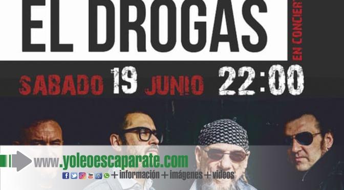 El Drogas, en concierto en Alfaro