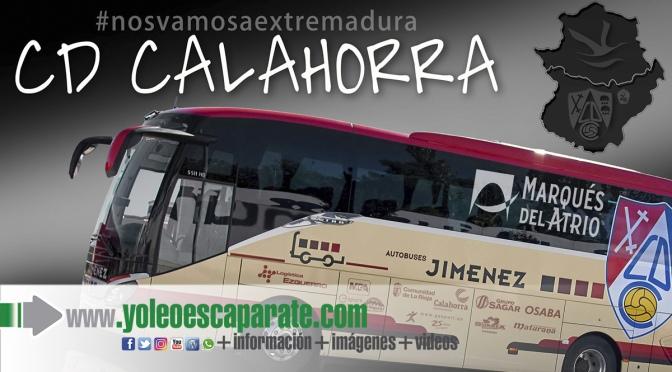 Pack gratuito para socios del CD Calahorra para el partido del sábado en Extremadura
