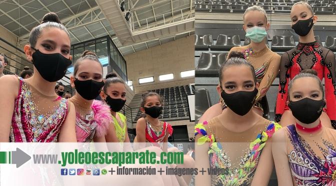 Excelentes resultados en Villamediana de Las gimnastas de la Agrupación Deportiva Agustinos