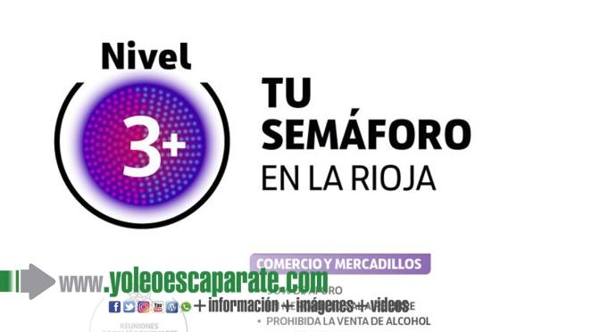 Se mantiene el nivel 3 intensificado en Calahorra y Alfaro