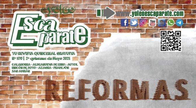 De reformas en Escaparate 2ª Quincena de mayo