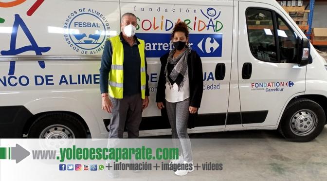 El Ayuntamiento de Pradejón dona 4.000 euros al Banco de Alimentos convertidos en 5.376 kilos de alimentos