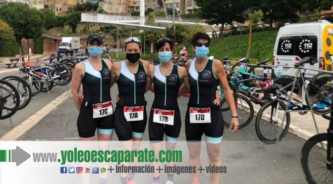 Debut del equipo femenino del Calahorra Triatlón en Haro