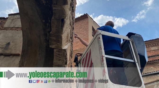 Un conductor@ a la fuga ocasiona daños en el arco del planillo de San Andrés