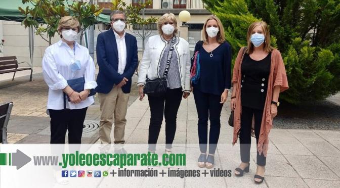 Pablo Rubio y María Somalo visitan recursos de atención a personas mayores en autol y Rincón de Soto