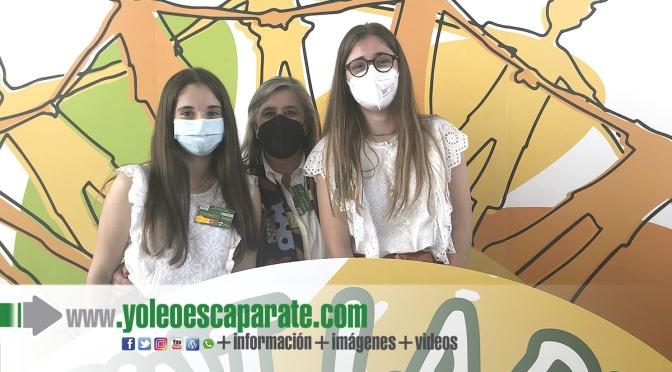 Las alumnas de Agustinos, Julia Fernández- Velilla y Alicia Beltrán, en la VIII Confint Rioja