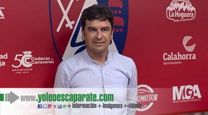 Eduardo Docampo nuevo entrenador del CD Calahorra