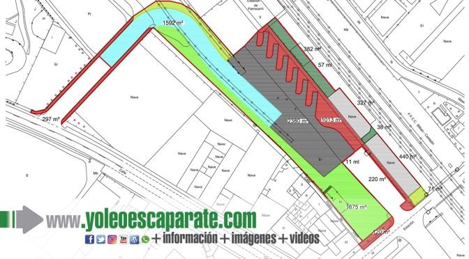 Aprobada la obtención de terrenos para la construcción de la futura estación intermodal