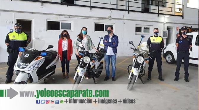 """Rincón de Soto """"hereda"""" una motocicleta para la policía local"""
