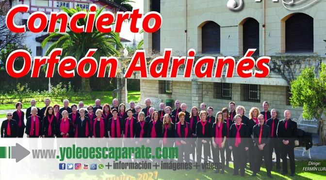 La actuación del Orfeón Adrianés pone fin a la agenda cultural de San Adrián, que descansa durante el mes de julio