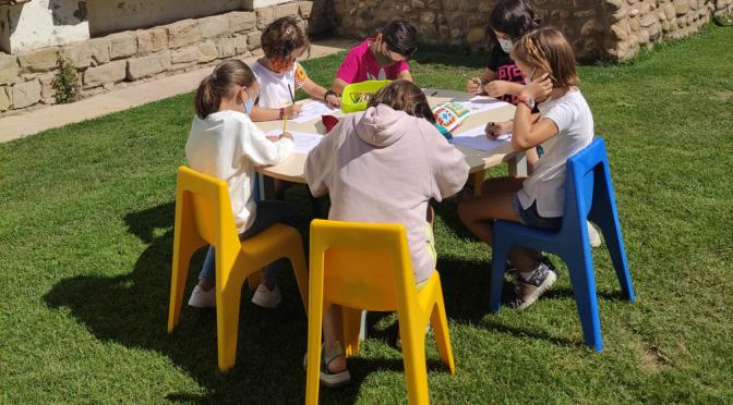Celebrado un taller de verano para niñas y niños