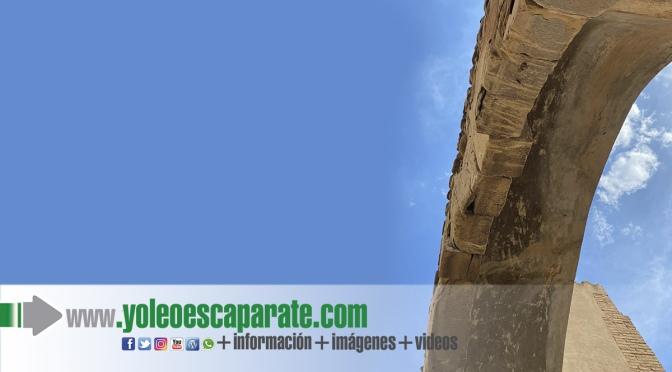 Se instala un sistema de protección del arco romano del Planillo de San Andrés
