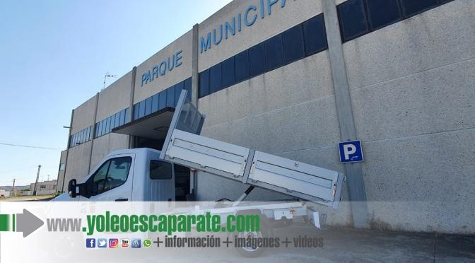 Nuevo camión basculante para el Parque Municipal de Servicios de Calahorra