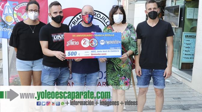 Donación en favor de la Asociación Española Contra el Cáncer