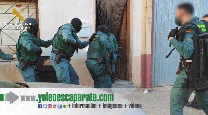 La Guardia Civil desmantela un punto de venta de droga en Rincón de Soto