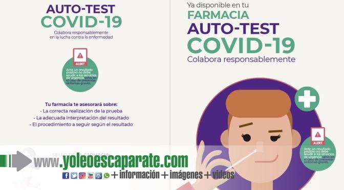 Las 156 farmacias de La Rioja informarán a Rioja Salud de los resultados de los test de autodiagnóstico de COVID-19