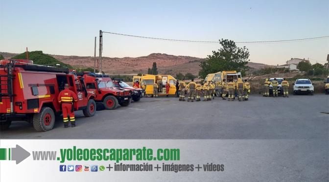 Controlado el incendio en el entorno de Yerga tras quemar alrededor de 360 hectáreas