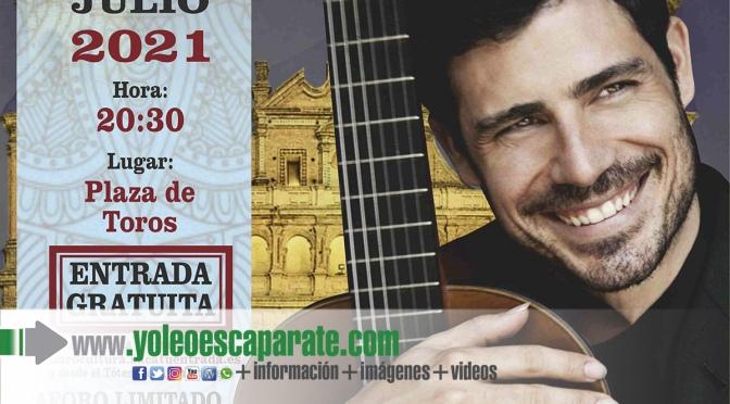 El próximo 24 de julio Pablo Sáinz Villegas ofrecerá un concierto gratuito en Alfaro