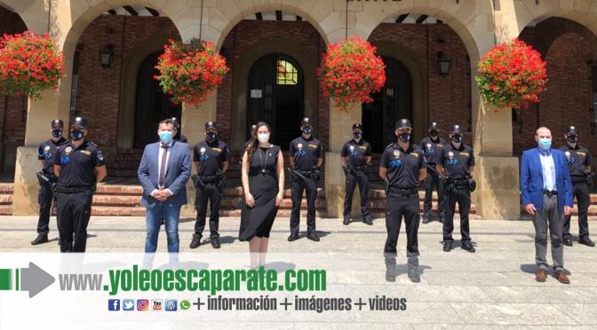 Nueve Policías Locales toman posesión en el Ayuntamiento de Calahorra
