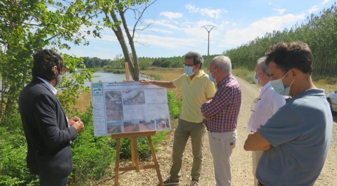 POsibles cortes de agua mañana en alfaro por la Conexión nuevos pozos de captación del Ebro