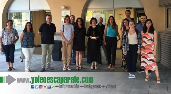 La calagurritana Olga Martín galardonada en los premios Mensa Lleida