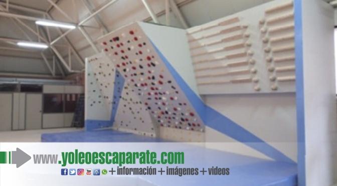 Finalizan las obras de ampliación del Rocódromo  en Calahorra