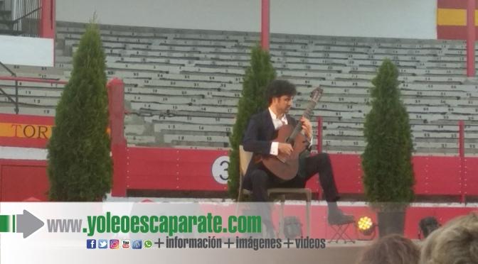 Sáinz-Villegas actuó  en la plaza de toros de Alfaro