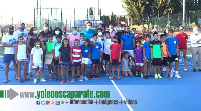 Celebración de las 48 horas de tenis en Alfaro