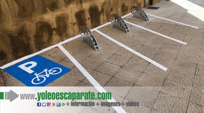 Más de 25 puntos nuevos aparcabicis por diferentes puntos de Calahorra