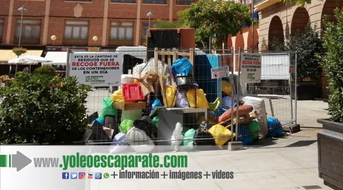 Campaña para concienciar de la importancia de depositar los residuos