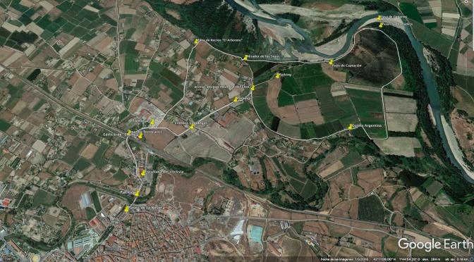 De ruta, conociendo los sotos del estajao en Alfaro