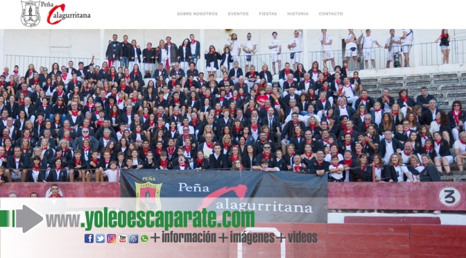 'CHUPINAZO WEB' de la peña calagurritana